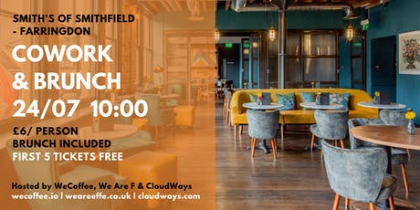 Cowork & Brunch @Smiths of Smithfield tickets
