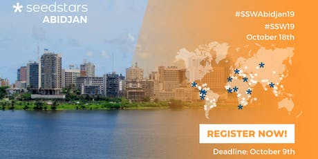 Seedstars Abidjan 2019 tickets
