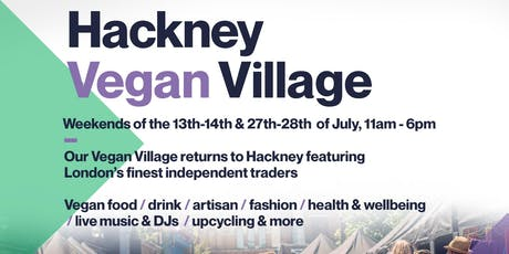 Hackney Vegan Village - Saturday & Sunday tickets