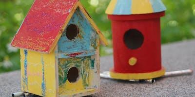 Bird House Decorating