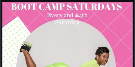 SATURDAY BOOT CAMP  tickets