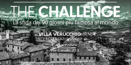 CHALLENGE group party VILLA VERUCCHIO tickets