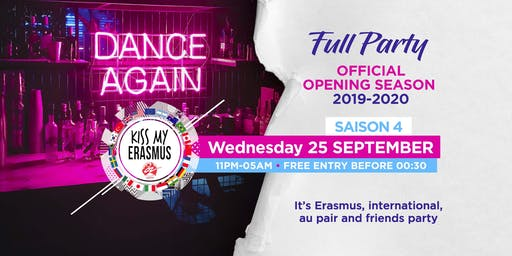 Kiss My Erasmus (Opening - Season 2019-2020)
