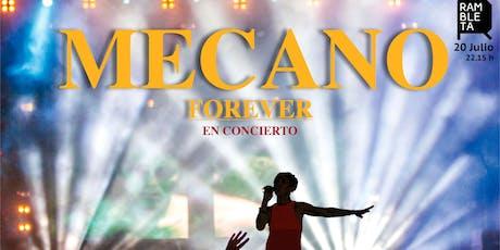 Mecano Celebration entradas
