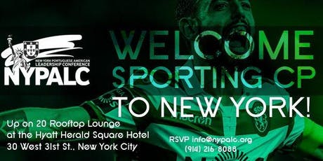 Welcome Sporting CP to New York tickets