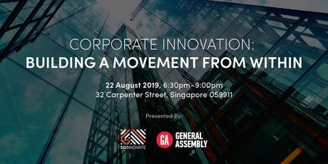 Corporate Innovation: Building a Movement from Within tickets
