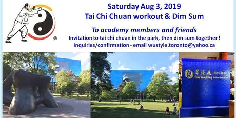 Tai Chi Chuan class at Grange Park (behind AGO Henry Moore sculpture) tickets