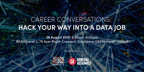 Career Conversations: Hack Your Way Into A Data Job tickets