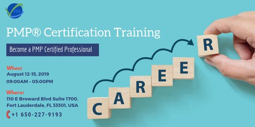 PMP Training | Boot Camp | Florida | August | 2019