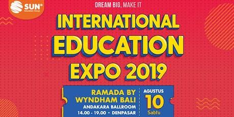 SUN International Education Expo Bali 2019 tickets