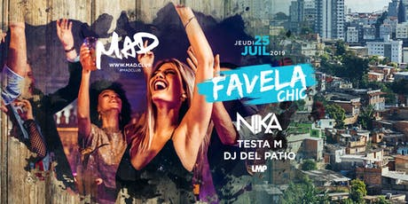 FAVELA CHIC tickets