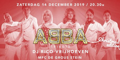 ABBA Tribute & DJ Rico Vrijhoeven - Christmas Edition billets