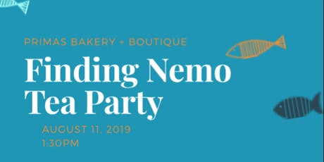 Finding Nemo Tea Party tickets