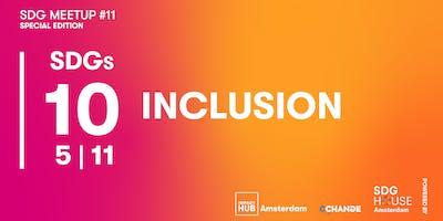 SDG Meetup #11   Inclusion