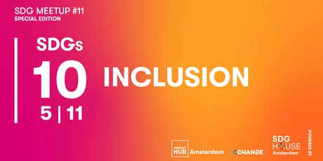 SDG Meetup #11 | Inclusion tickets