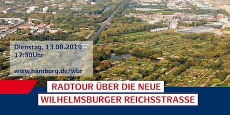 5. Radtour über die neue Wilhelmsburger Reichsstraße Tickets
