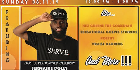 LIFT JESUS UP EVENTS tickets