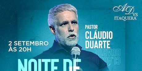 Noite de Vitória - Pr. Cláudio Duarte ingressos