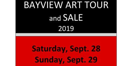Bayview Art Tour 2019 - 8 venues and 20 artists- September 28-29 tickets