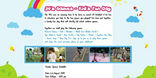 Family Fun Day: 80's & 90's Games