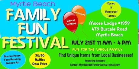 Myrtle Beach Family Fun Fest tickets