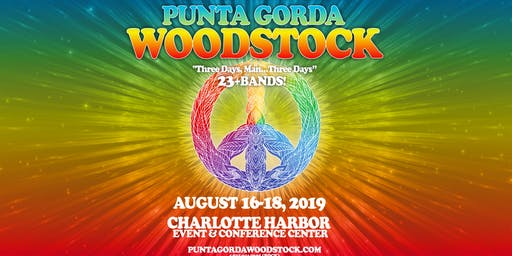 ☮️ Woodstock - Weekend in Punta Gorda (Air-Conditioned)