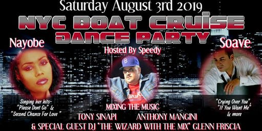 NYC Dance Party Boat Cruise