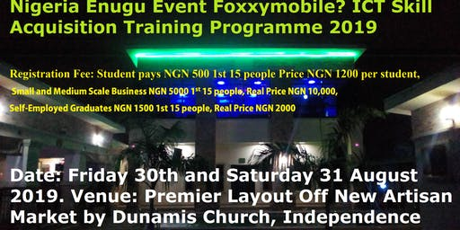 Youth Talent Hunt Foxxymobile ICT Skill Acquisition Training Programme
