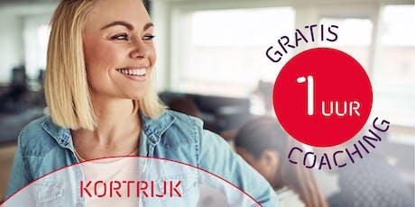 1 uur gratis coaching voor ondernemers - Kortrijk tickets