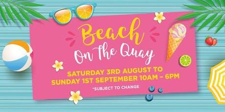 Beach on the Quay tickets