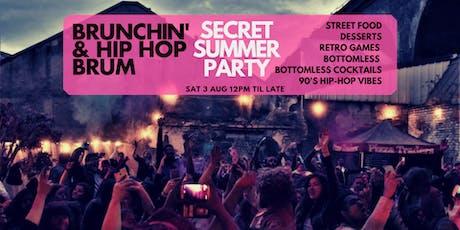 Brunch'n & Hip Hop - Summer Brunch Party tickets