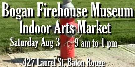 Bogan Firehouse Arts Market