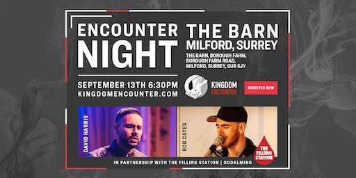 ENCOUNTER NIGHT | SEPTEMBER 13 | GODALMING | SURREY