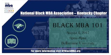 Black MBA 101 tickets