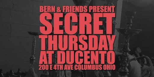 Secret Thursday with DJs BERN & DNTFRT