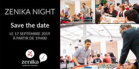 Zenika Night Paris : échanges, talks et convivialité au programme ! billets