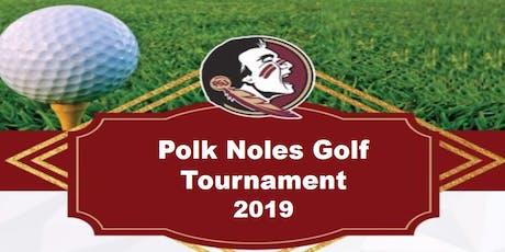 Annual Polk Noles Golf Tournament tickets