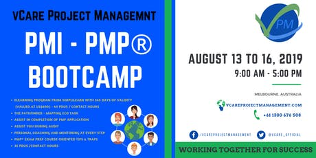 PMP Training | Certification | Course | Melbourne | August | 2019 tickets