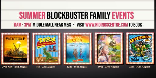 Summer Blockbuster Family Events - Prince and Princess
