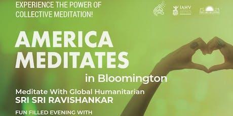America Meditates - Bloomington IL tickets