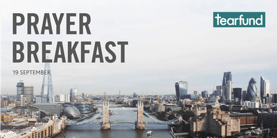 Tearfund Prayer Breakfast