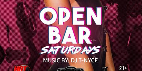 Open Bar Saturday tickets