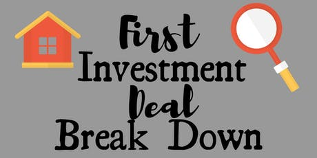 First Real Estate Investment Deal Break Down (Newbie Panel) tickets