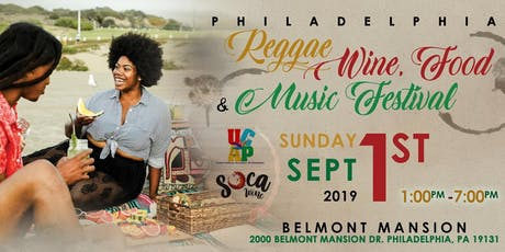 Philadelphia Reggae Wine Food & Music Festival tickets