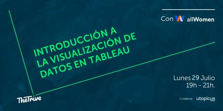 The Trive - Introducción a la visualización de datos con Tableau  entradas