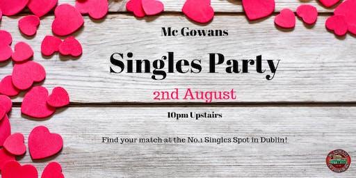 McGowans Singles Night