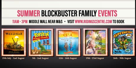 Summer Blockbuster Family Events - Under the Sea tickets