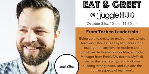 Eat & Greet: From Tech to Leadership