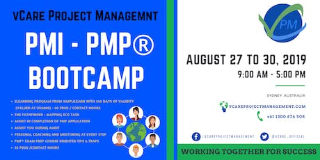 PMP Training | Certification | Course | Sydney | August | 2019 tickets