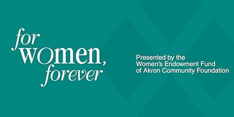 """""""For Women, Forever"""" Annual Dinner tickets"""